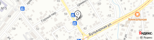 Валькирия на карте Пятигорска