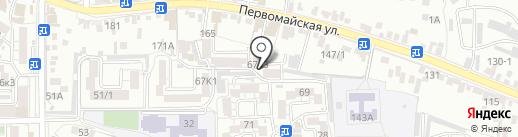 Улыбка на карте Пятигорска
