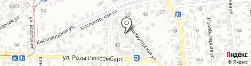 Лаборатория №1 на карте Пятигорска