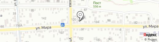 Три пирога на карте Пятигорска