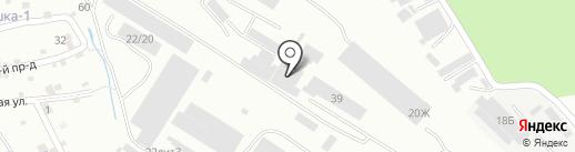 Производственная компания на карте Пятигорска