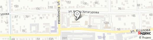 Северо-Кавказский Федеральный университет на карте Пятигорска