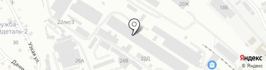 Металл Трейд на карте Пятигорска