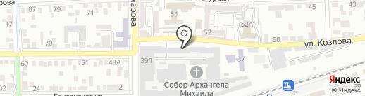 Холод на карте Пятигорска