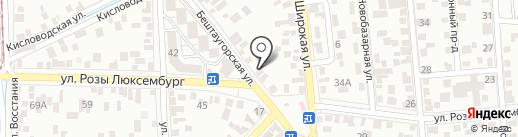 Погода в доме на карте Пятигорска
