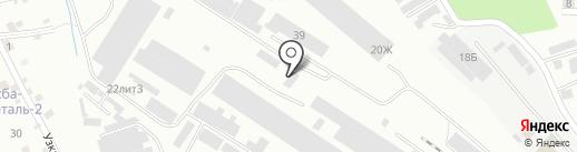 КМВ-Цемент на карте Пятигорска