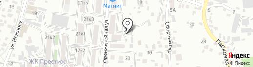 Family Club на карте Пятигорска