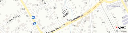 ТОЗИС на карте Пятигорска