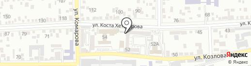 Общество охотников и рыболовов на карте Пятигорска