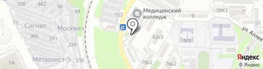 Благоинвест на карте Пятигорска