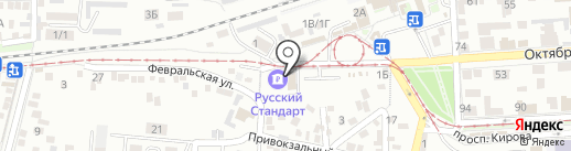Банкомат, Банк Русский Стандарт на карте Пятигорска