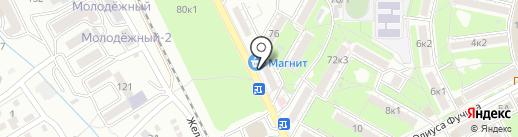 Банкомат, Сбербанк, ПАО на карте Пятигорска
