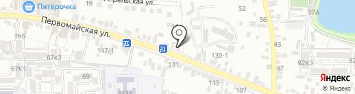 Компания компьютерного сервиса на карте Пятигорска