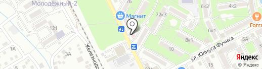 Магнитно-резонансная и компьютерная томография на карте Пятигорска