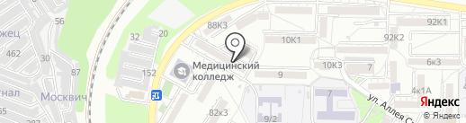 Северо-Кавказская академия инновационных технологий в образовании и науке на карте Пятигорска