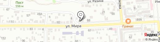 Рандеву на карте Пятигорска