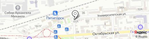 Свадебное агентство Оксаны Киселёвой на карте Пятигорска