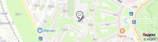 Детский сад №26, Аленький цветочек на карте Пятигорска