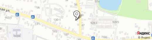 Звезда на карте Пятигорска