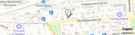 Фарма-Нова на карте Пятигорска
