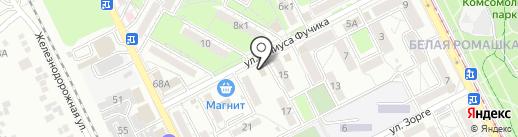 Золушка на карте Пятигорска