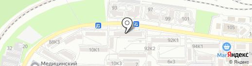 Продукты на карте Пятигорска