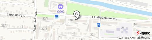 Почтовое отделение №1 на карте Свобод
