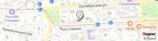 Финам на карте Пятигорска