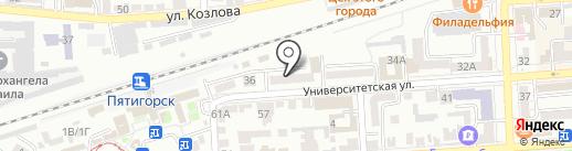 Роспотребнадзор на карте Пятигорска