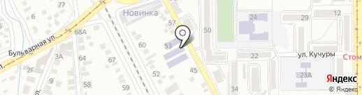 Лаборатория на карте Пятигорска