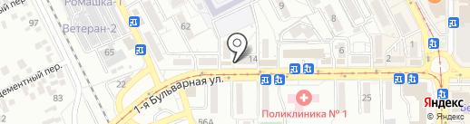 Не болей! на карте Пятигорска