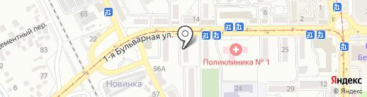 БНС КМВ на карте Пятигорска