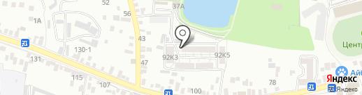 Добрый на карте Пятигорска