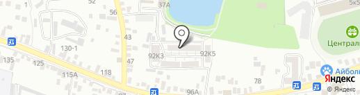 Академия Бизнеса на карте Пятигорска