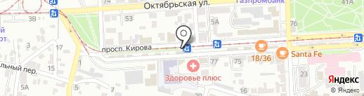 Развивай-ка на карте Пятигорска