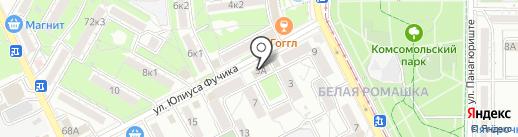 Шашлык House на карте Пятигорска
