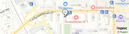 ГорЗдрав на карте Пятигорска