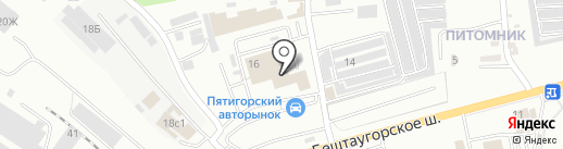Альтернатива на карте Пятигорска