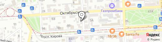 Кабинет врача-гомеопата на карте Пятигорска