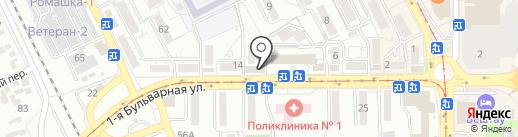 МАГ-Трейдинвест на карте Пятигорска