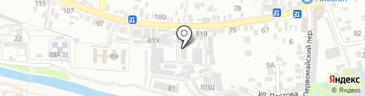 МастерПринт-26 на карте Пятигорска