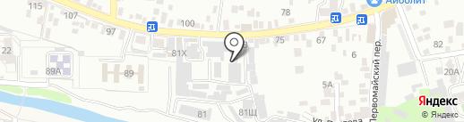 ЭВО-КАР на карте Пятигорска
