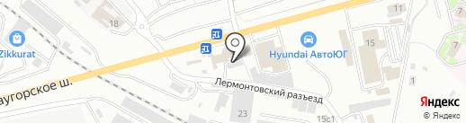 AUTODRIVE на карте Пятигорска
