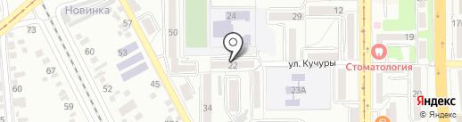 Славянский союз Ставрополья в г. Пятигорске на карте Пятигорска