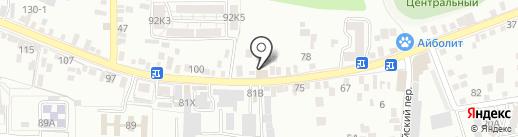 Инженерные системы на карте Пятигорска
