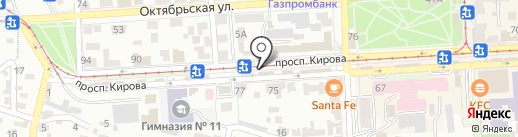 PERSONA на карте Пятигорска