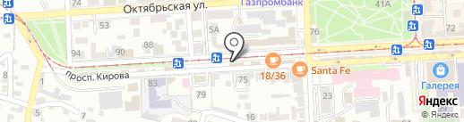 Gabriella на карте Пятигорска