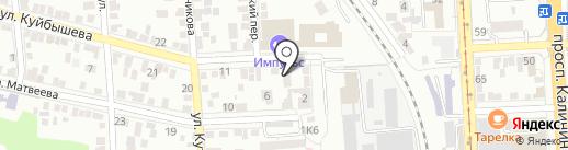 Свет-Сервис на карте Пятигорска