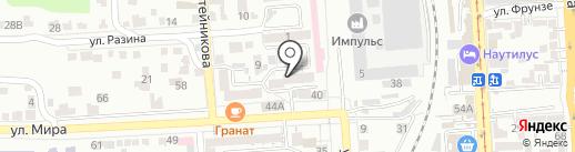 СВС-Пятигорск на карте Пятигорска