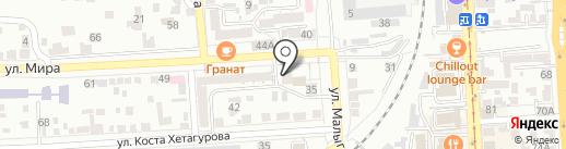 Надежда на карте Пятигорска